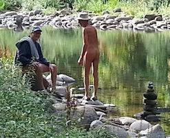 Gathering at the creek